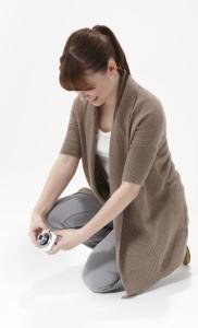 Typisk stilling når man fotograferer med PowerShot N? (Foto: Canon)