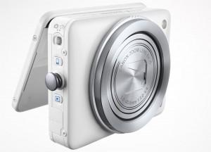 Canon PowerShot N byr på annerledes design. (Foto: Canon)