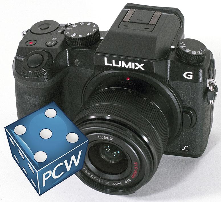 NESTEN SPEILREFLEKS: Lumix G7 ser nesten ut som et fullverdig speilreflekskamera, med betjeningsorganer som appellerer til erfarne fotografer. (Foto: Toralv Østvang)