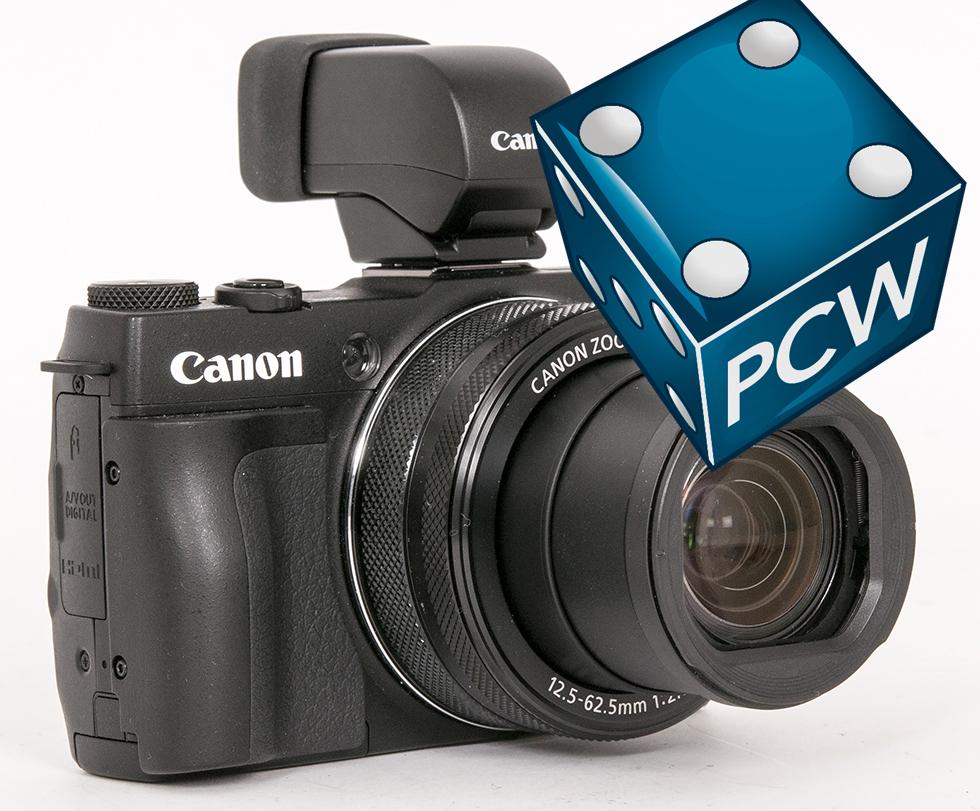 CANON: Canon G1 X Mark II skiller seg fra forgjengeren blant annet med elektronisk søker, et stort fremskritt fra den primitive gjennomsiktssøkeren på forgjengeren.