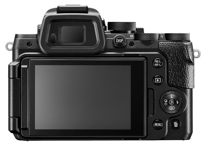 RENE SPEILREFLEKSEN: Nikon DL24-500 har innebygd søker med høy oppløsning. (Foto: Nikon)
