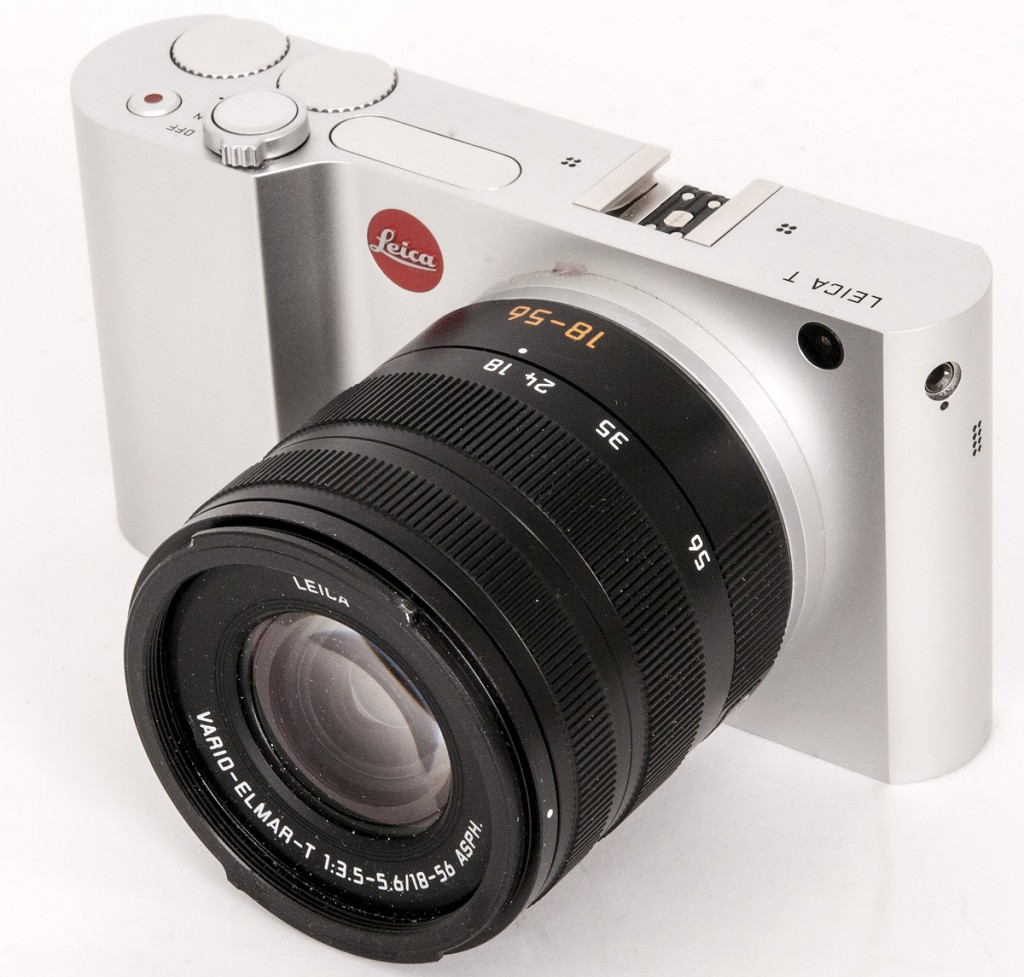SÆRPREG: Leica T skiller seg definitivt fra de andre speilløse systemkameraene på markedet.