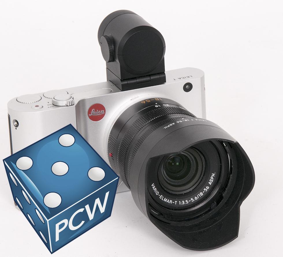 LEICA: Delvis håndprodusert digitalkamera fra Leica, som hadde sitt første kamera klart for 100 år siden, i 1914.
