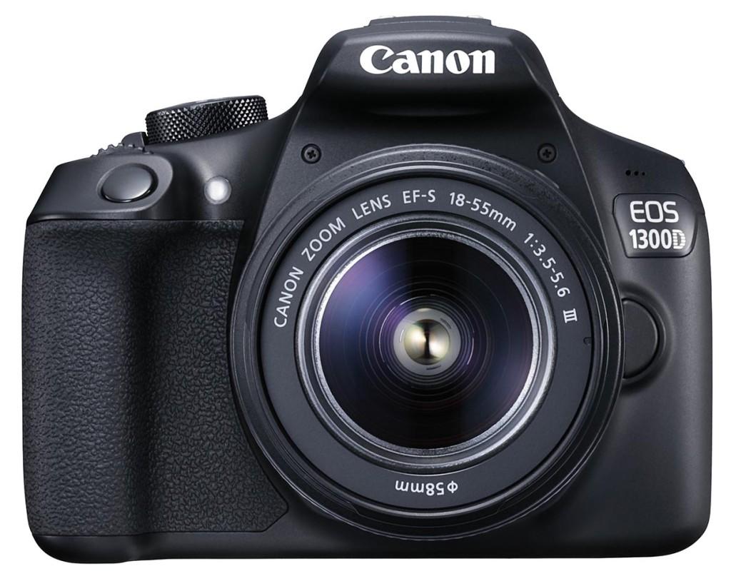 INNGANGSBILLETTEN: Canon EOS 1300D er inngangsbilletten til Canons store speilrefleksfamilie. (Foto: Canon)