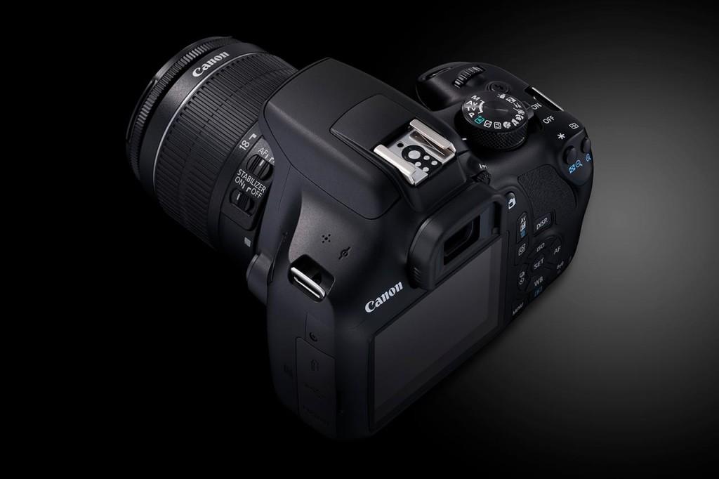 FULLVERDIG: Canon EOS 1300D er et fullverdig speilreflekskamera tross den relativt lave prisen. (Foto: Canon)