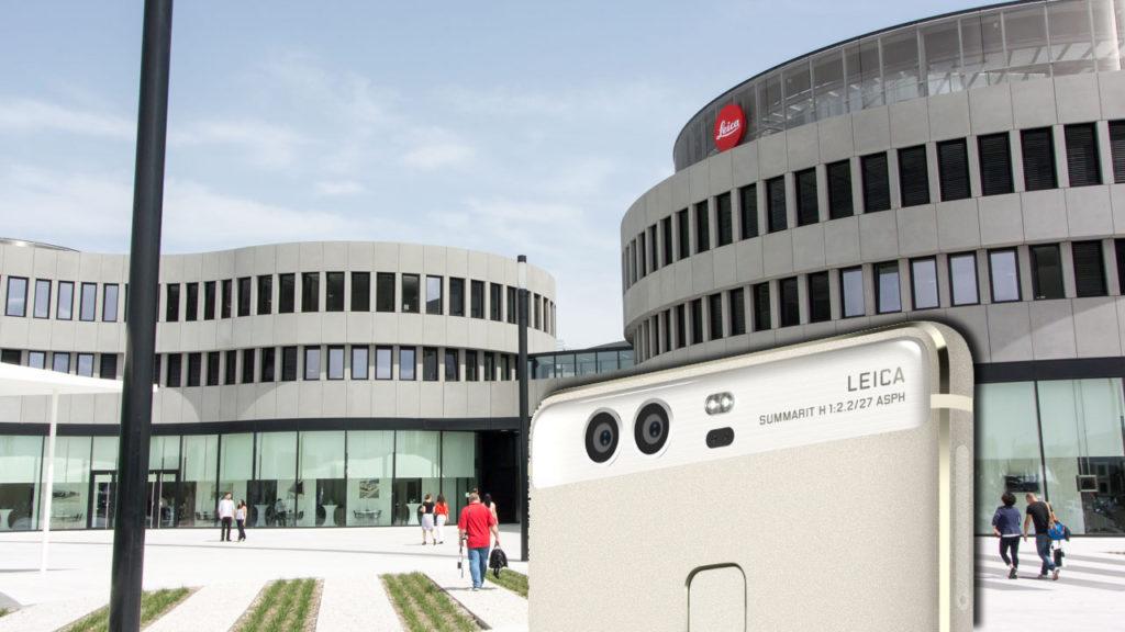 Leica. Huawei P9.