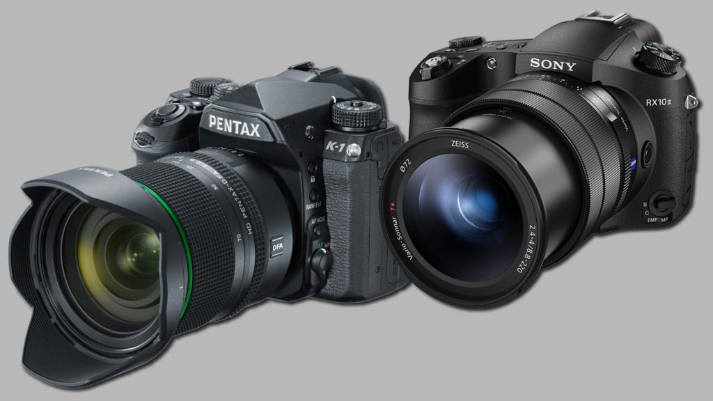 Pentax K-1, Sony RX100 MIII