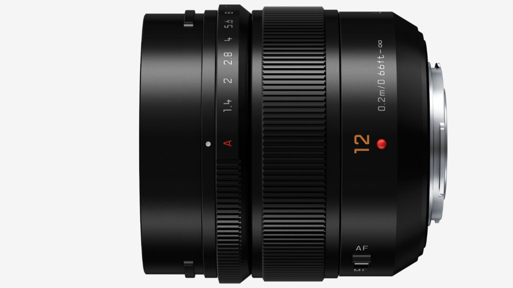 BLENDERRING: Leica DG Summilux 12mm/F1.4 ASPH er utstyrt med god, gammeldags blenderring. (Foto: Panasonic)
