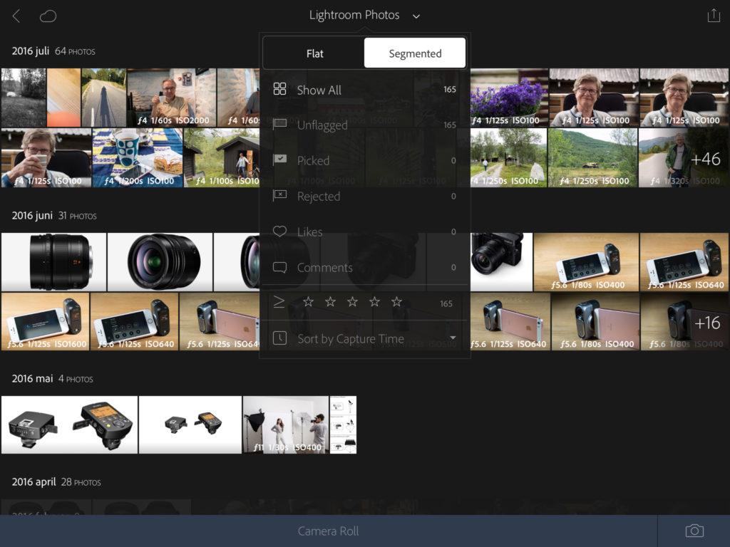 Lightroom Mobile - iPad Pro