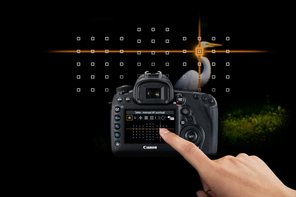 Canon EOS 5D Mark IV pekeskjerm