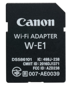 Canon WiFi-adapter