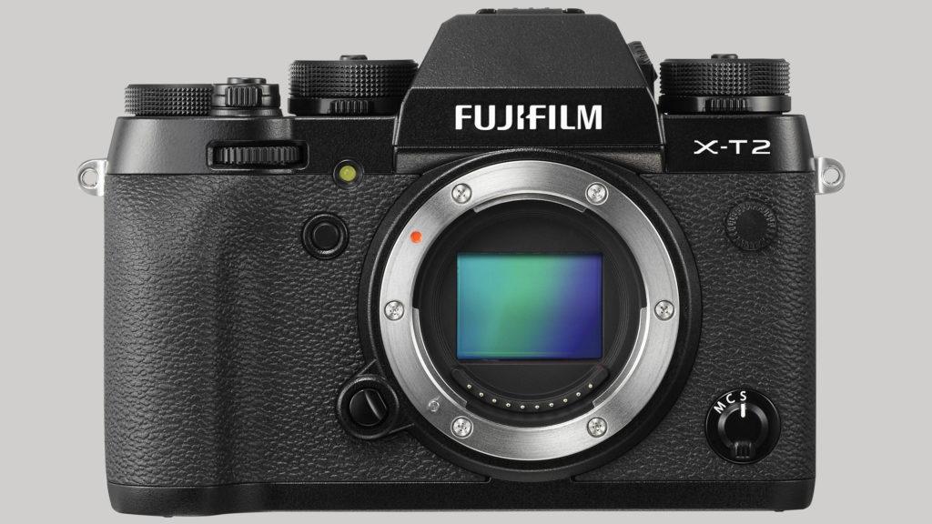 FLAGGSKIP: X-T2 er Fujifilms nye flaggskip i APS-C-klassen. (Foto: Fujifilm)