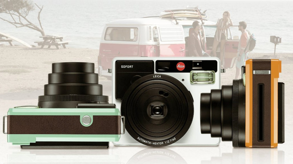 STRAKS: Sofort er navnet på Leicas nye kamera med Polaroid-aner. (Foto: Leica)