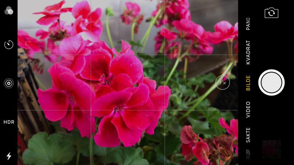 iPhone 7-kamera