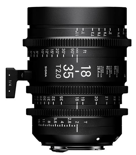 Sigma 18-35 T2.0
