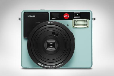 MINTGRØNN: Leica Sofort i mintgrønt. (Foto: Leica)