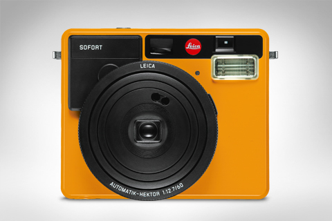 ORANSJE: Leica Sofort i oransje. (Foto: Leica)