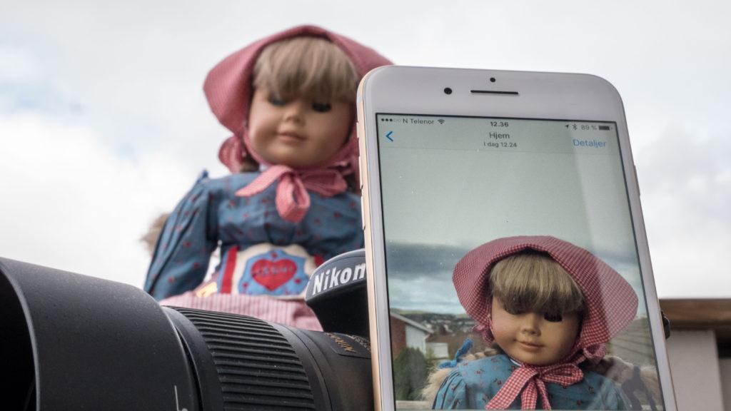 Nikon D300 iPhone 7 Plus