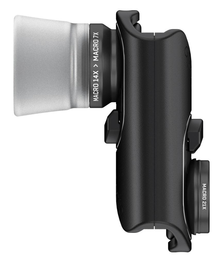 MAKRO: Olloclip Macro Lens for iPhone 7 på plass. (Foto: Olloclip)