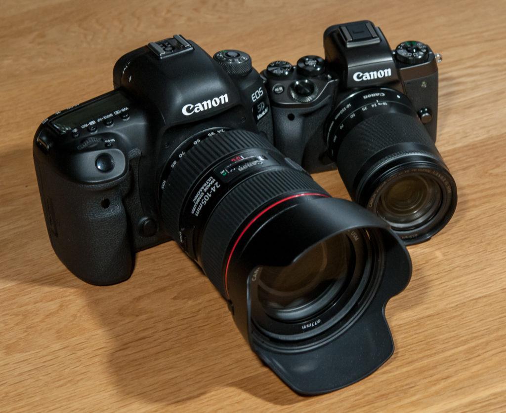 Canon EOS M5 D5