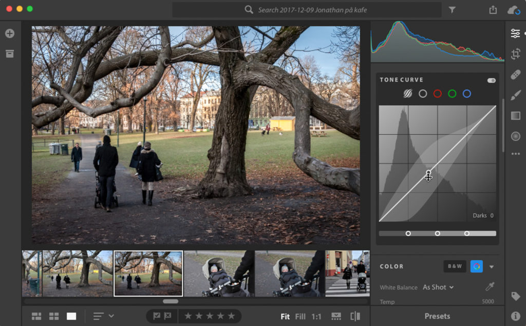 Adobe Lightroom CC 1.1