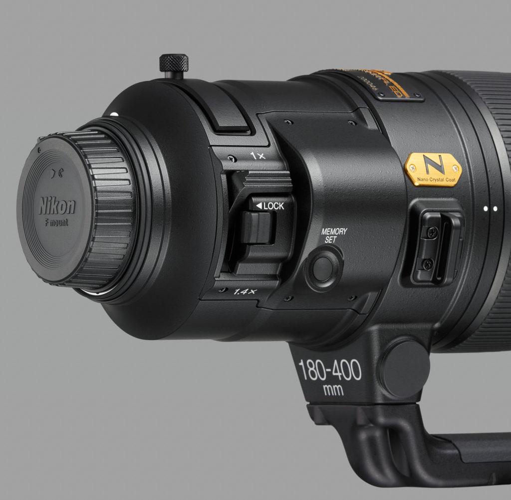 AF-S Nikkor 180-400mm f/4 TV1.4 FL ED VR