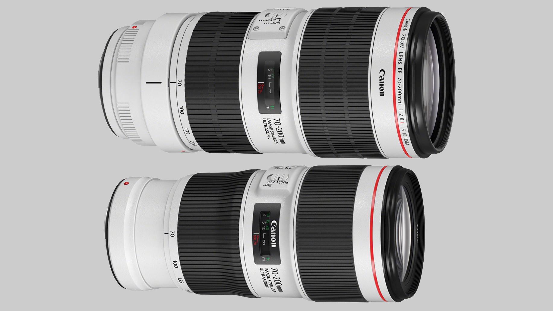 Canon 70-200 mm tele
