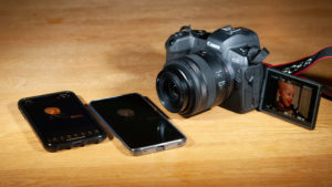 Canon EOS R iPhone XR Huawei Mate20 Pro