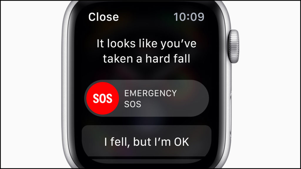 Apple Watch Fall Detection