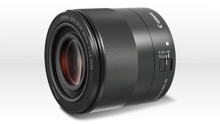 Canon EF-M32mm f:1.4 STM