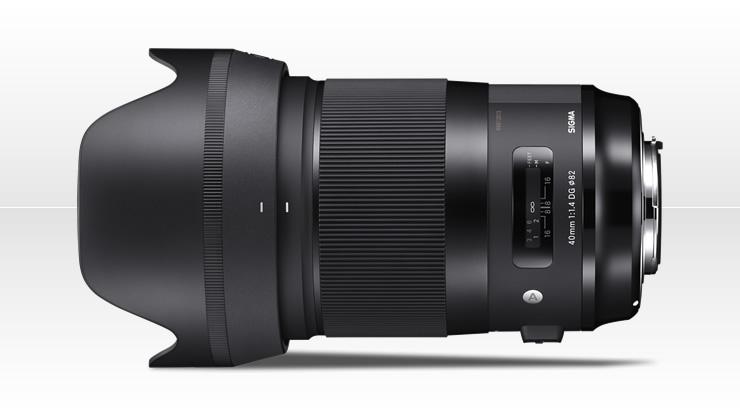 SIGMA 40mm F1.4 DG HSM | Art