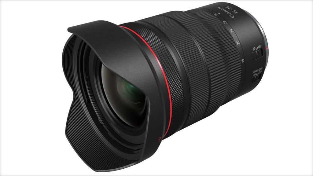 Canon RF 15-35 mm f/2,8