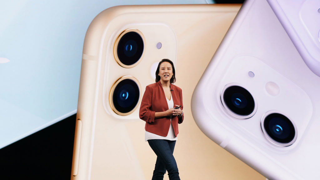 iPhone 11-lansering