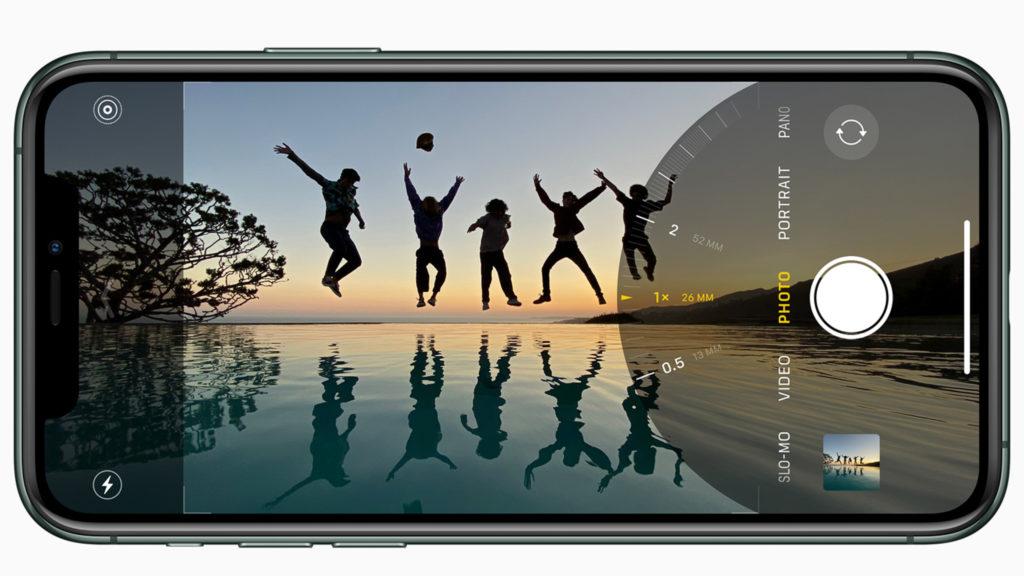 iPhone 11 Pro ultravidvinkel