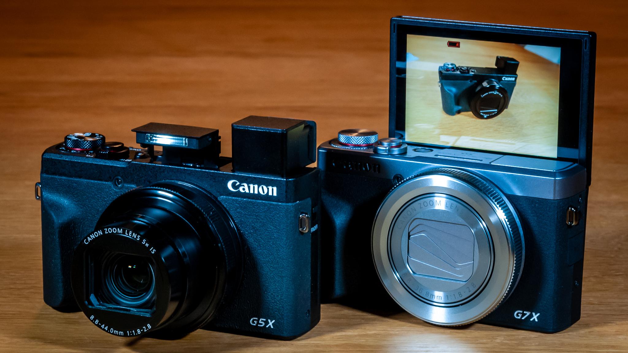 Canon PowerShot G5 X Mark II og Canon PowerShot G7 X Mark III