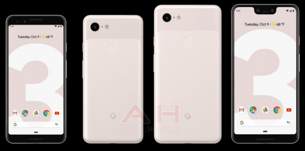 Google Pixel 3-familien
